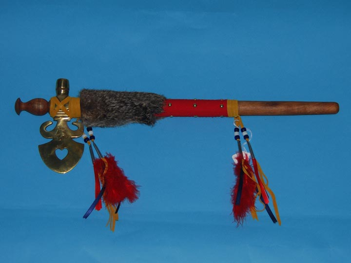 Iroquois French Fancy Tomahawk Pipe