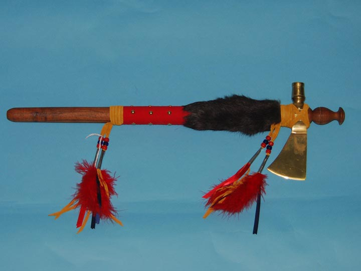 Iroquois English Fancy Tomahawk Pipe