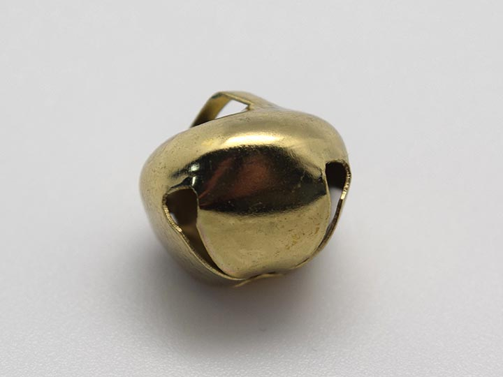 12mm Jingle Bells: Gold (100/bag)