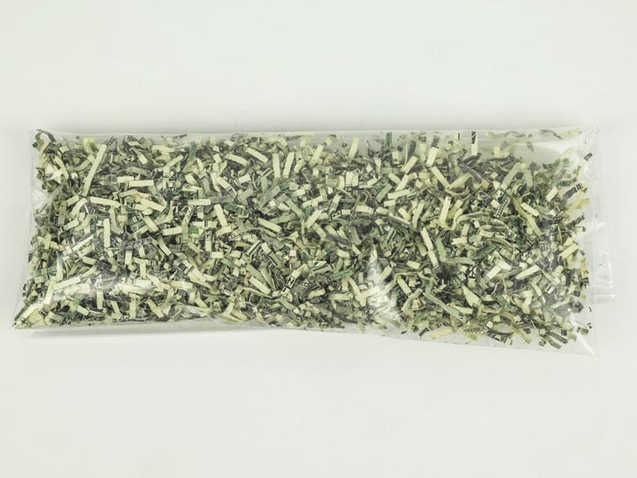 Shredded U.S. Currency: 1-Ounce Bag