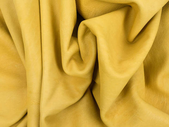Horse Leather: Tannery Run 2: Prairie Gold: 2.5 oz. (sq ft)