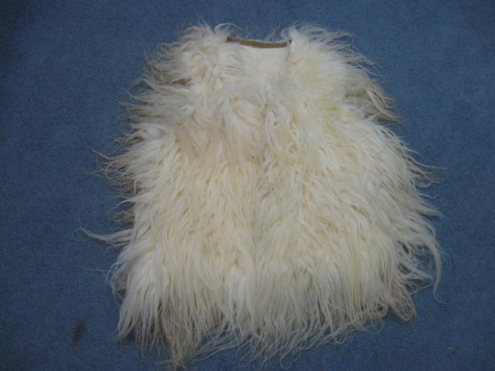Racka Sheepskin Vest: Assorted