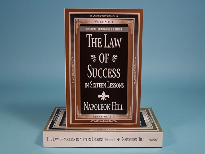 Book: <i>The Law of Success in Sixteen Lessons</i> (Two-Volume Set)