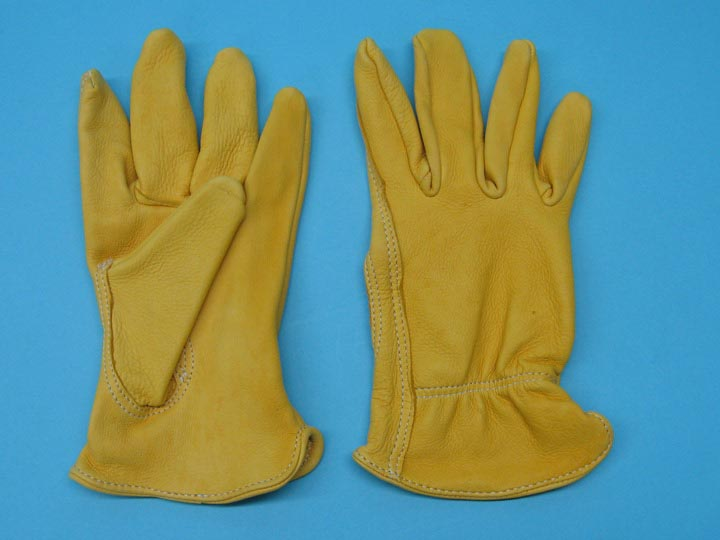 Deer Leather Gloves: Assorted