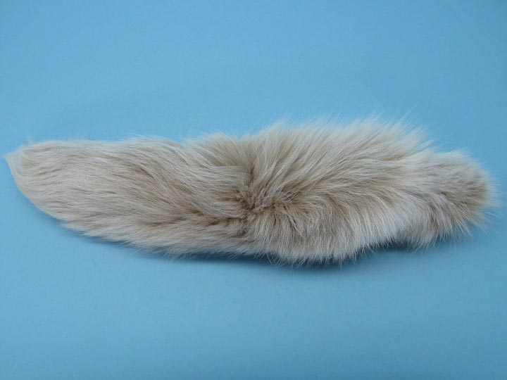Dyed Fox Tail: Lynx Color