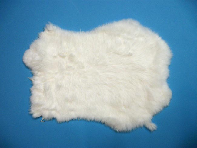Craft Rabbit Skin: White