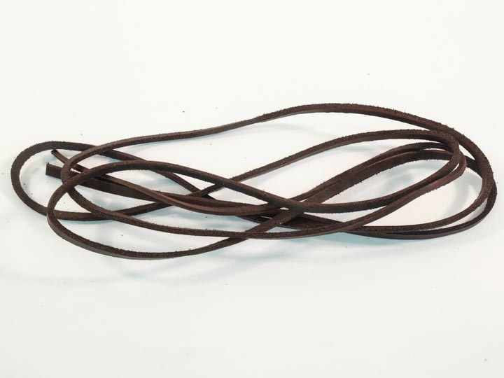 "Latigo Lacing 1/8x72"": Dark Brown"