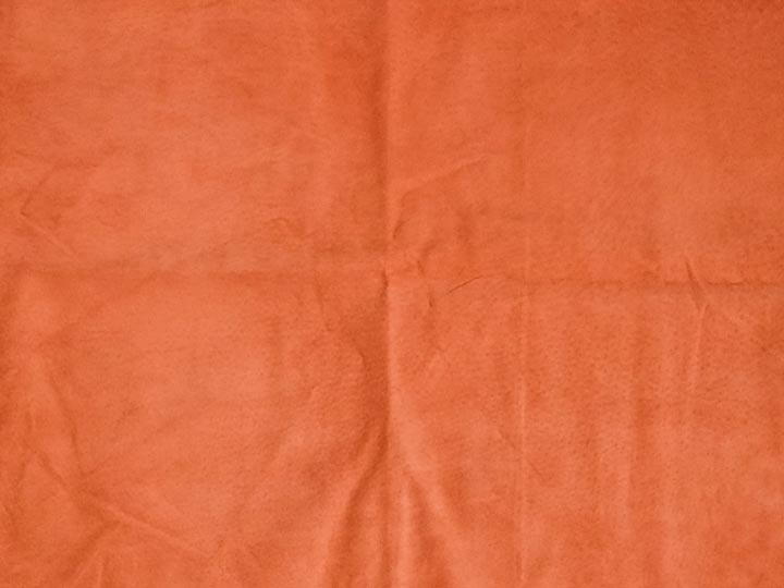 Pig Suede Leather: #1: Coral (sq ft)