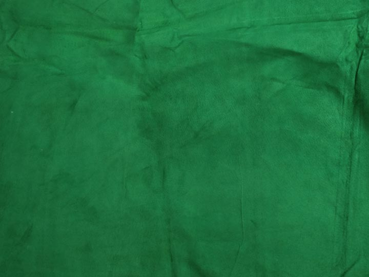 Pig Suede Leather: #1: Green (sq ft)