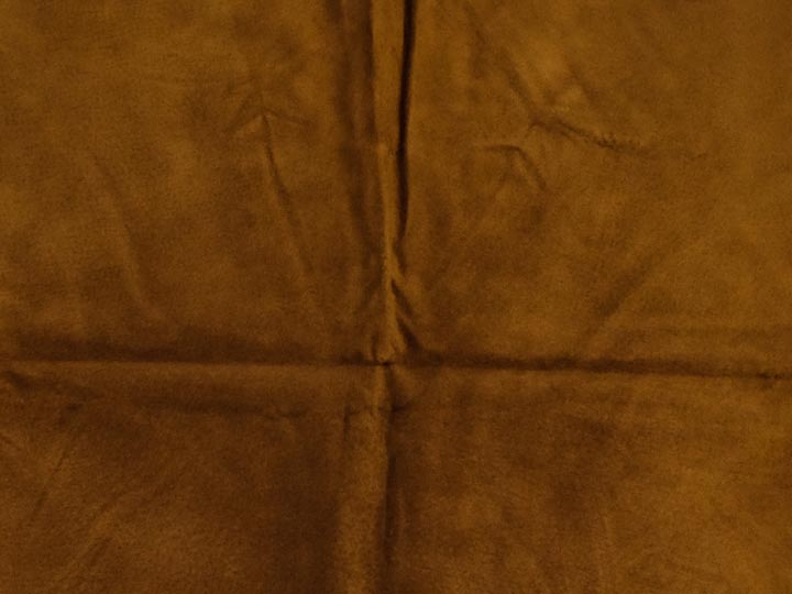 Pig Suede Leather: #1: Mocha (sq ft)