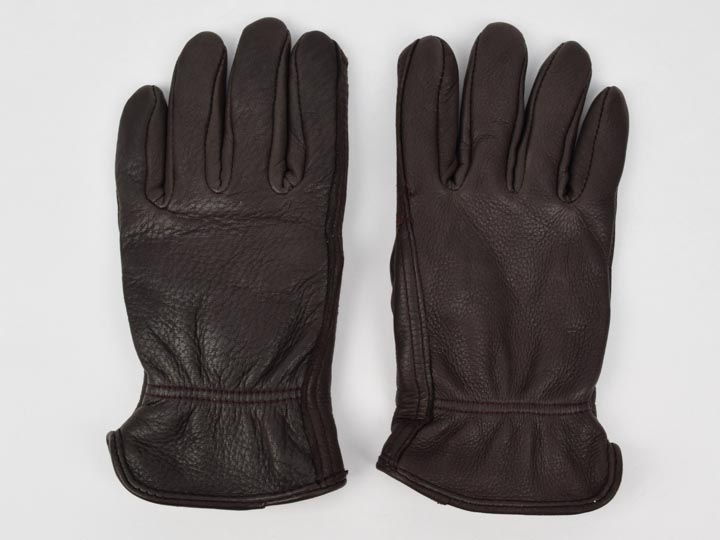 Brown Ladies Deerskin Gloves