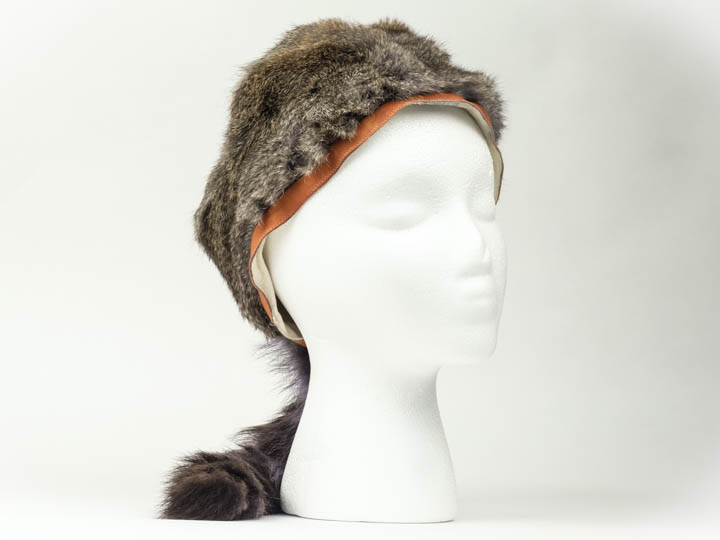 "Trading Post Davy Crockett Hat with 4"" band"