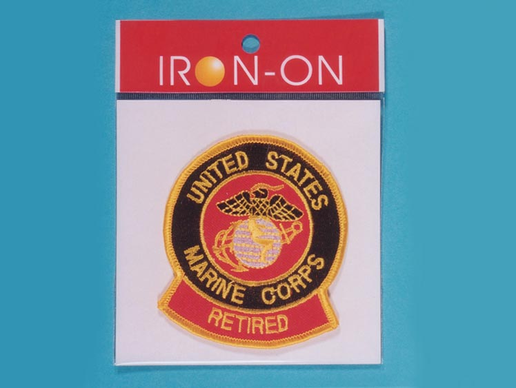 U.S. Marine Retired Badge