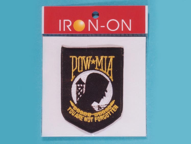 POW*MIA Badge