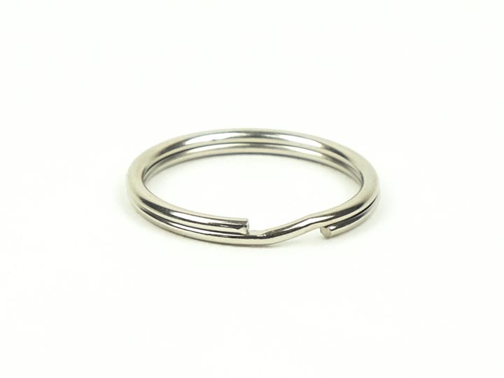 Nickel Split Ring