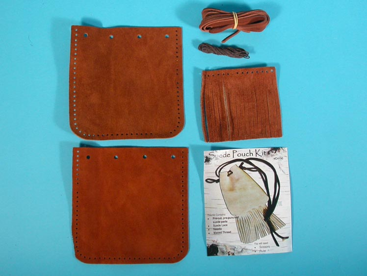 Fringed Pouch Kit