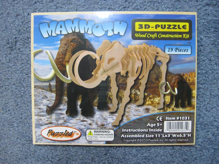 Mammoth Puzzle