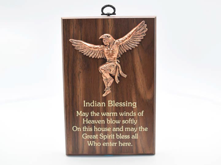 Wisdom Plaque: Indian Blessing