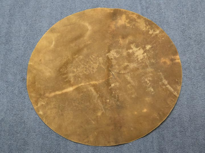 Cow Rawhide Disc: Medium