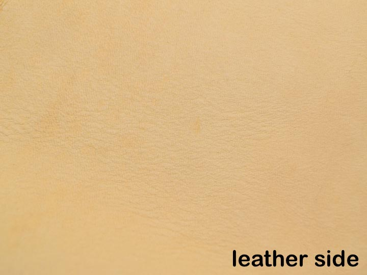 Moose Leather: #1 Side: Gold Cream (sq ft)