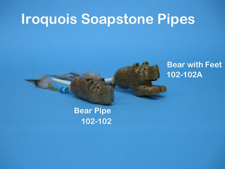 Iroquois Bear Pipe