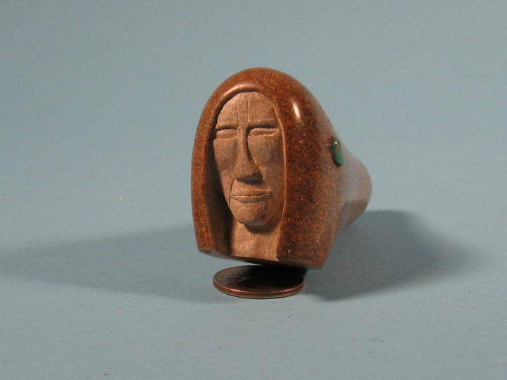 Iroquois Soapstone Pipe: Gallery Item