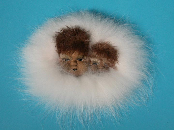 Alaska Seal Skin Mask: Gallery Item