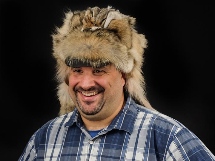 Coyote Mountain Man Hat: Gallery Item
