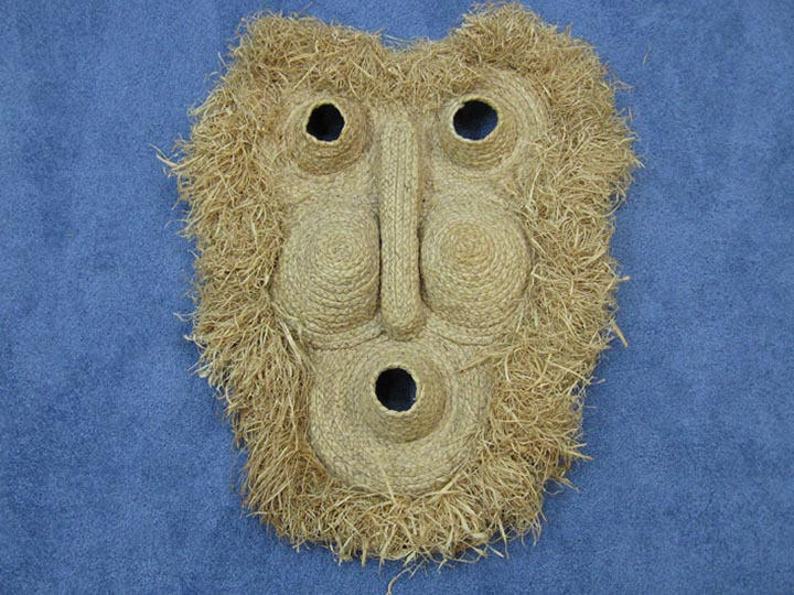 Corn Husk Mask: Gallery Item