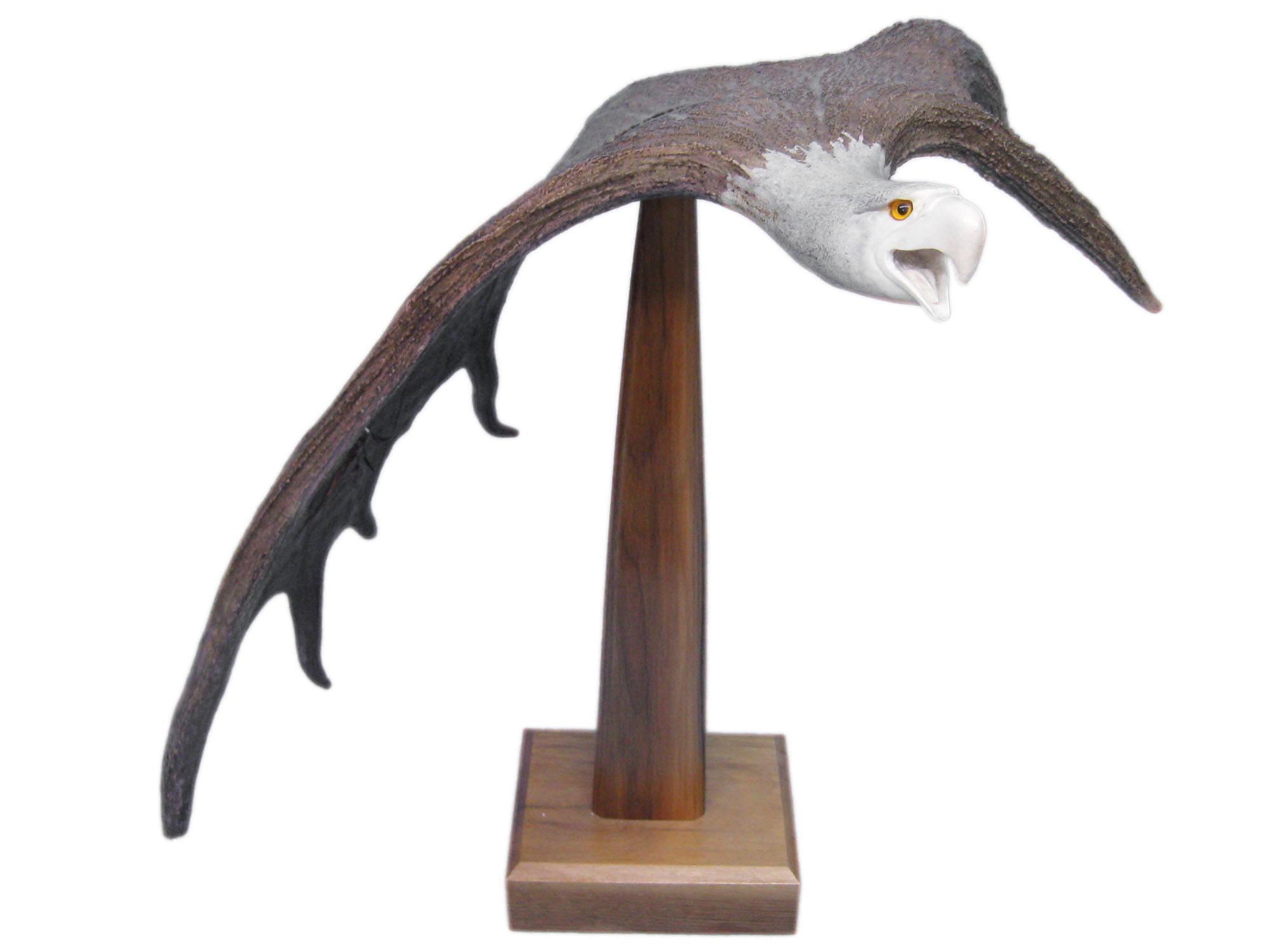 Iroquois Moose Antler Carving: Gallery Item
