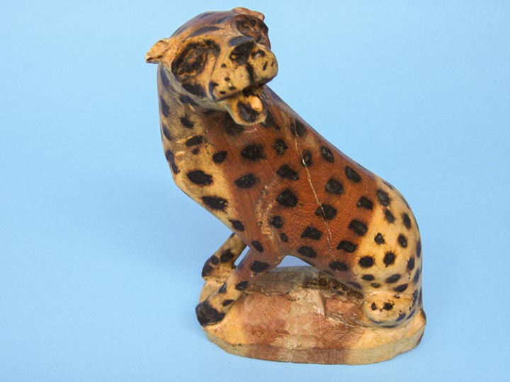 African Hyena Wood Carving: Gallery Item