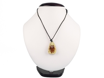 Glow-in-the-Dark Bug Necklace: Stink Bug