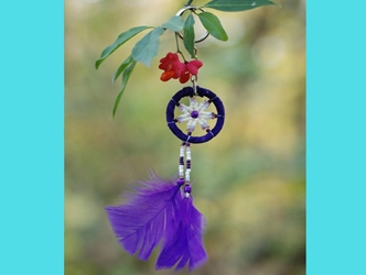 Dreamcatcher Keychain: Assorted