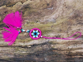 Dreamcatcher Cell Phone Fob: Assorted