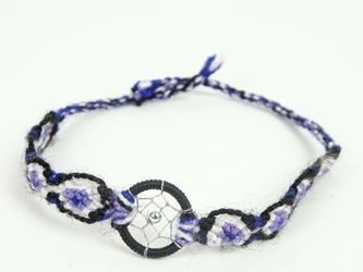 Woven Dreamcatcher Friendship Bracelet