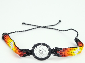 Beaded Dreamcatcher Bracelet
