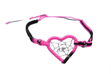 Dreamcatcher Bracelet: Heart Center: Assorted