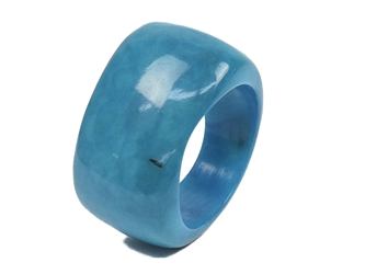 Smooth Tagua Nut Ring