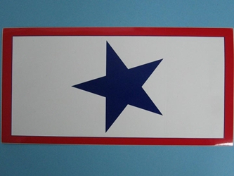 Service Star Bumper Sticker