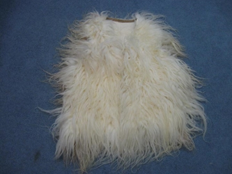 Racka Sheepskin Vest: Assorted racka sheepskin vests