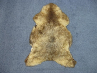 UK Sheepskin: 110-120 cm: Rare Brown: Assorted