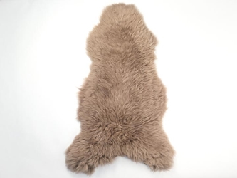 UK Sheepskin: 110-120 cm: Dyed Taupe: Assorted