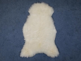 White UK Sheepskin