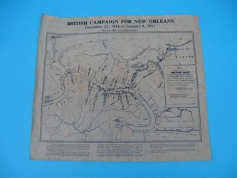 British Campaign for New Orleans Parchment