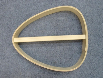 Shaman Drum Frame: 29x30 cm wooden drum frames, wood drum frames