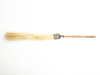 Horse Tail Whisk: White: 22""