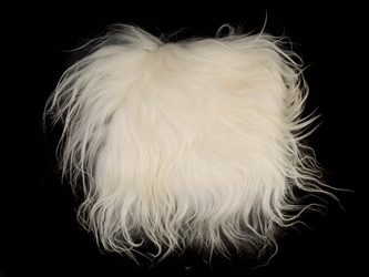 Icelandic Sheepskin Project Piece: Creamy White