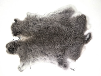 Spanish Garment Rabbit Skin: Chinchilla