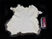 Spanish Garment Rabbit Skin: Natural: Part White - 134-03NPW (L23)