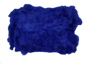 #1 Rex Rabbit: Dyed Blue: Size B